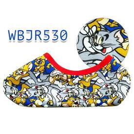 トム&ジェリー ギッシリ 裏ボアソックス WBJR530