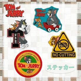 トムとジェリー サークル/Tマーク/ノーカッティング/台車 キャラクターステッカー WB1073_WB1076