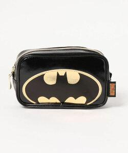 DCコミックス バットマン スクエアポーチ バットマン ロゴ WBBT857
