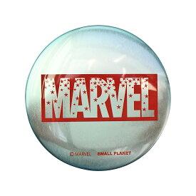 MARVEL マーベル ロゴ スターRD 缶ミラー