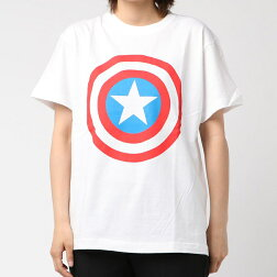 【ポイント10倍】MARVELマーベルキャプテンアメリカシールドカラーTシャツMSPAP1843Kiitosキートススモール・プラネット