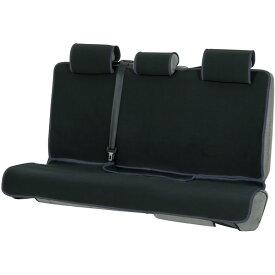 防水・撥水汎用シートカバー『防水デオ』(ブラック/グレー 後席セット・分割式シート対応 )