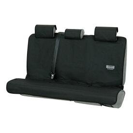 後席用防水汎用シートカバー『ファインテックス』(ブラック シートベルト対応)