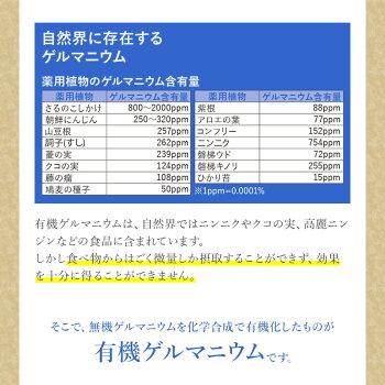 【ゲルマ100】有機ゲルマニウム(粒)Ge-132P300mg×60粒約1〜2ヶ月分【送料無料!!】jalgae【あす楽対応】