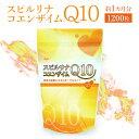 スピルリナ・コエンザイムQ10 1200粒 約30日分アスリート サプリメント マルチビタミン アミノ酸 アルカリ性食品 核酸…