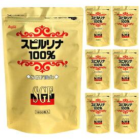 SGF強化スピルリナ100%1800粒6袋購入で1袋無料プレゼントサプリメント スーパーフード ホールフード BCAA【ラッキーシール対応】