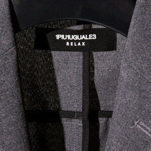 1PIU1UGUALE3RELAX(ウノピゥウノウグァーレトレ)ウォッシャブル4WAYストレッチテーラードジャケット(ホワイト/ターコイズ/グレー/ブラック)