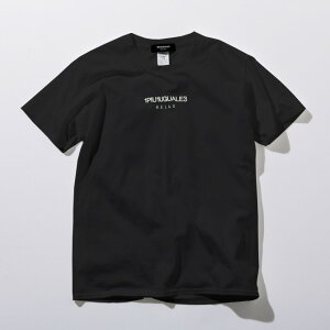 1PIU1UGUALE3RELAX(ウノピゥウノウグァーレトレ)フロントロゴプリントTシャツ(ホワイト/ピンク/チャコール/ブラック/ロイヤルブルー/ライトブルー/パープル/ダークグリーン)