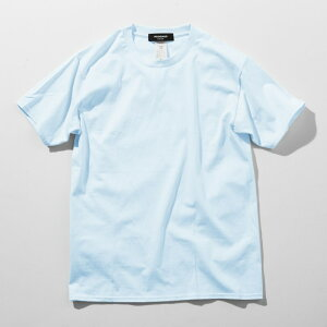 1PIU1UGUALE3RELAX(ウノピゥウノウグァーレトレ)バックロゴプリントTシャツ(ホワイト/ピンク/チャコール/ブラック/ロイヤルブルー/ライトブルー/パープル/ダークグリーン)