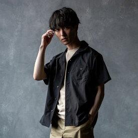1PIU1UGUALE3 RELAX(ウノピゥウノウグァーレトレ) 刺繍ポケット開襟シャツ(ベージュ/カーキ/チャコール/ブラック)