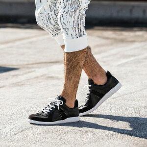 1PIU1UGUALE3 RELAX ウノピゥウノウグァーレトレ ジャーマン スニーカー メンズ おしゃれ かっこいい シューズ 靴