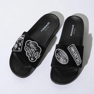 1PIU1UGUALE3 RELAX ウノピゥウノウグァーレトレ ワッペン シャワー サンダル メンズ おしゃれ かっこいい ブランド シューズ 靴 海 プール ビーチ ウノピュウ