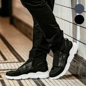 1PIU1UGUALE3 RELAX ウノピゥウノウグァーレトレ Vibram ソール Wファスナー スニーカー メンズ おしゃれ かっこいい シューズ 靴