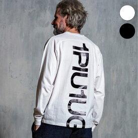 1PIU1UGUALE3 RELAX ウノピゥウノウグァーレトレ バックプリント ビッグ ロング Tシャツ メンズ トップス おしゃれ かっこいい ブランド ウノピュウ