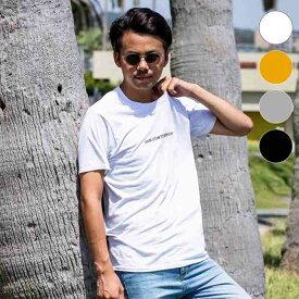 AKM Contemporary(エイケイエムコンテンポラリー) フロントプリントTシャツ(ホワイト/オレンジ/ライトグレー/ブラック)