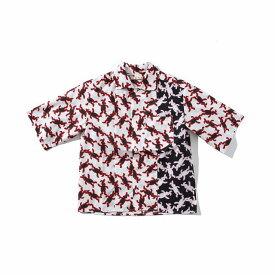 MARNI マルニ プリント 半袖 シャツ かわいい おしゃれ ブランド 子供服 子ども服 キッズ 女の子【正規輸入品】