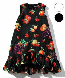 MSGM エムエスジーエム コットン ノースリーブ ワンピース 女の子 ブランド 子供服 こども服 おしゃれ かっこいい かわいい キッズ