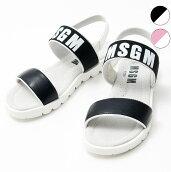 MSGMエムエスジーエムロゴサンダルシューズ靴ブランド子供服こども服おしゃれかっこいいかわいいキッズ