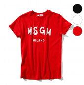 MSGMエムエスジーエムロゴ半袖TシャツT-SHIRT男の子女の子ブランド子供服こども服おしゃれかっこいいかわいいキッズ