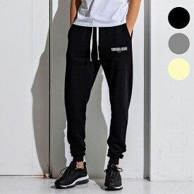 NUMBER (N)INE DENIM ナンバーナインデニム ワンポイント ジョガー メンズ パンツ ズボン ボトムス おしゃれ かっこいい ブランド スポーツ ストリート 部屋着 スウェット
