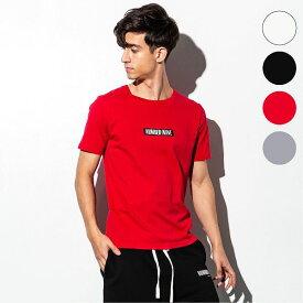 NUMBER (N)INE DENIM ナンバーナインデニム ボックスロゴ メンズ Tシャツ おしゃれ かっこいい ブランド 半袖 トップス ストリート スポーツ ウェア