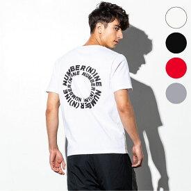 NUMBER (N)INE DENIM ナンバーナインデニム サークル ロゴ メンズ Tシャツ おしゃれ かっこいい ブランド 半袖 トップス ストリート スポーツ ウェア