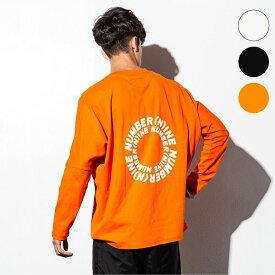NUMBER (N)INE DENIM ナンバーナインデニム サークルロゴ ドルマン ロング メンズ Tシャツ おしゃれ かっこいい ブランド トップス ストリート スポーツ ウェア