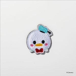 デコ☆カバ ツムツム ドナルドダック デザインワッペン キッズ こども 男の子 女の子 小学生 キャラクター