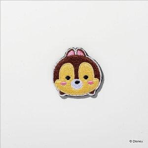 デコ☆カバ ツムツム チップ デザインワッペン キッズ こども 男の子 女の子 小学生 キャラクター