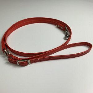 小型犬用首輪リード赤・キラキラ文字は別売り