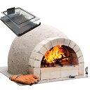 家族で楽しむ手作りピザ窯C600ファミリーキット+燻製棚付き