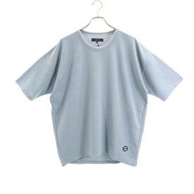 新品 クオルト DRY-THERMAL CUTSEW ワッフル Tシャツ L QUOLT 半袖 カットソー グレー メンズ 【200228】