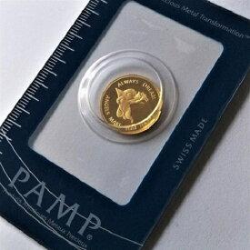 【純金 コイン 金貨】(純金コイン)24金 PAMP エンジェル金貨 2.5g天使 純金 金 ゴールド コイン 99.99% Angel エンゼル