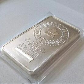 純銀インゴット ロイヤルカナディアンミントシルバーバー 10オンス カナダ 保証書付 銀地金純銀 銀 シルバー 品位 99.99% バー