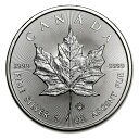 【純銀 コイン】メイプル銀貨 1オンス 2017年製 カナダ王室造幣局発行 メープルリーフ
