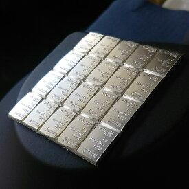 純銀インゴット スイスヴァルカンビ シルバーバー 20g valcambi社発行 保証書付 グッドデリバリーバー 銀地金(1×20g)純銀 銀 シルバー コイン 品位 99.9% 硬貨 貨幣 バー