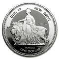 ウナライオン銀貨1オンス2019年クリアケース入りイギリスウナとライオン
