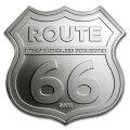 ルート66シルバーバー1オンスシールドミズーリ州