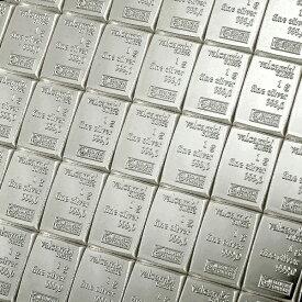 【新品・未開封】☆送料無料☆『スイス ヴァルカンビ コンビバー シルバーバー 100g (1g×100)』純銀 インゴット スイス・ヴァルカンビ社発行 100g 品位:99.9% 純銀 延べ棒 シルバー バー 銀 インゴット Ingot Silver Bar コレクション ギフト《安心の本物保証》
