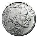 インディアンバッファロー銀貨1オンスシルバーコインアメリカ造幣局発行
