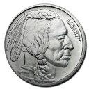 【新品】『バッファロー インディアン銀貨 1オンス クリアケース入り』原産国 アメリカ ネイティブ アメリカン 銀貨 …