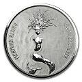 マーメイド銀貨1オンス