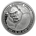 シルバーバックゴリラ銀貨1オンス2018年