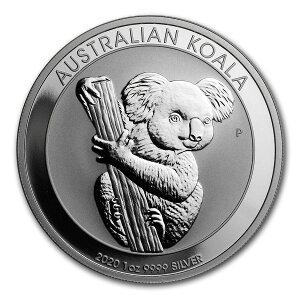 コアラ銀貨1オンス2020年