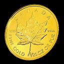 〜人気商品〜 『メイプル金貨 1/20オンス クリアケース入り』(ランダム・イヤー)カナダ王室造幣局発行 1.55gの純金品位:K24 (99.99%) カナダ メイプルリーフ24金 メープル 金貨