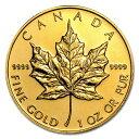 ☆送料無料☆『メイプル金貨 1オンス ランダム・イヤー』純金 コイン カナダ王室造幣局発行 31.1gの純金 品位:K24 (99…