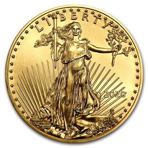 イーグル金貨1/10オンス2020鷲親子自由の女神