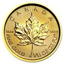 ☆送料無料☆【新品・未開封】『メイプル金貨 1/10オンス 2019年製 クリアケース入り』カナダ王室造幣局発行 3.11gの…