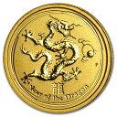 干支龍金貨 1/20オンス 2012年製 クリアケース入りオーストラリアパース造幣局発行純金のゴールド コインは、普遍的な価値があります《安心の本物保証》 【保...