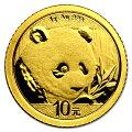 パンダ金貨1g2018年